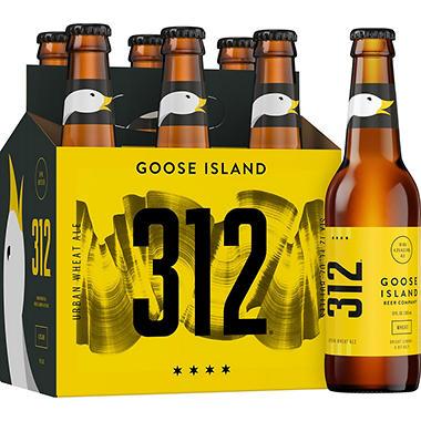 GOOSE ISLAND 312 6 / 12 OZ BOTTLES