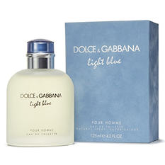 Light Blue by Dolce & Gabbana Eau De Toilette Spray 4.2 oz for Men