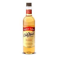 DaVinci Gourmet Classic English Toffee Beverage Syrup (750 ml)
