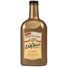 Da Vinci Gourmet White Chocolate Sauce - .5 gal.