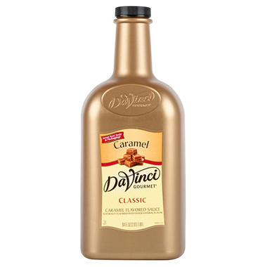 DaVinci Caramel Sauce - 5 lbs. 8 oz.