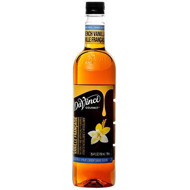Vanilla Flavored Sugar Free Coffee Syrup - 25.4 Fluid Ounces