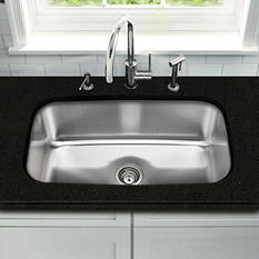 Stahl Stainless Extra Large Single Bowl Kitchen Sink (Limited Time Offer - DIY Event)