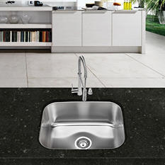Stahl Stainless Large Single Bowl Kitchen Sink (Limited Time Offer - DIY Event)