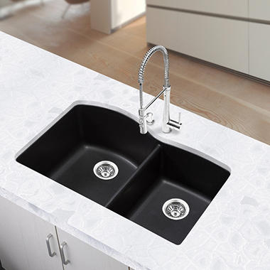 Blanco Silgranit Double-Bowl Kitchen Sink - Anthracite