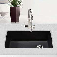 Blanco Diamond Super Single Bowl Kitchen Sink - Anthracite
