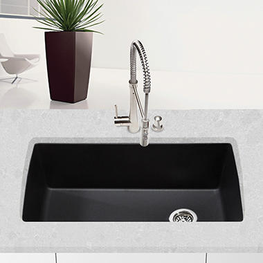 Blanco Diamond Super Single Bowl Kitchen Sink - Anthracite