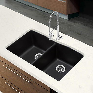 Blanco Diamond Equal Double Bowl Kitchen Sink - Anthracite
