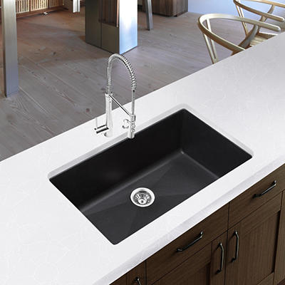 Blanco Precis Super Single Bowl Kitchen Sink (UM) - Anthracite