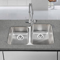 Blanco Stellar 1-3/4 Bowl Reverse Kitchen Sink