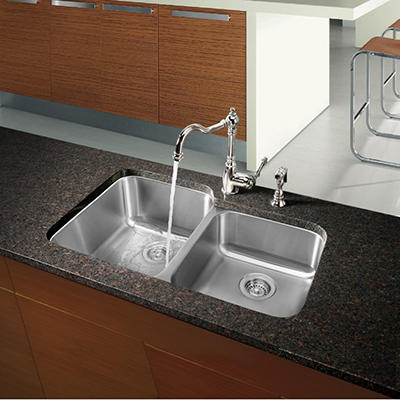 Blanco Stellar 1-3/4 Bowl Kitchen Sink