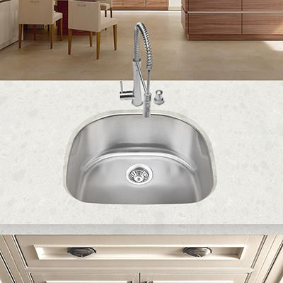 Blanco Stellar Single D Bowl Kitchen Sink