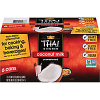 Thai Kitchen Coconut Milk (13.66 oz. cans, 6 pk.)