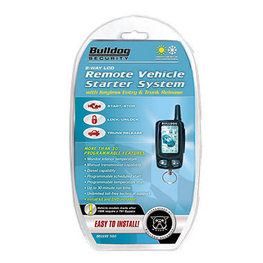 Bulldog Security Deluxe500 2 Way Remote Starter