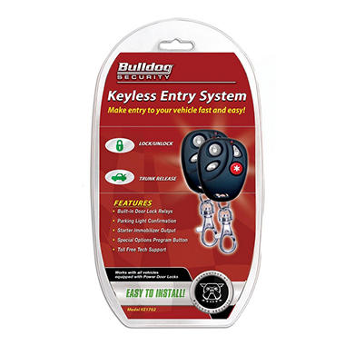 Bulldog Security KE1702 Remote Keyless Entry