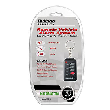 Bulldog Security 2010 Mini Car Alarm