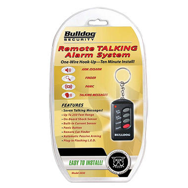 Bulldog Security 2030 Talking Mini Car Alarm