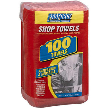 ProForce Shop Towels - 100 ct.