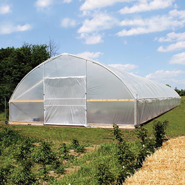 Poly-Tex FieldPro® Gothic High Tunnel Greenhouse (30' x 72') - Original Price $7999, Save $600