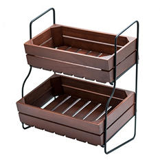 Farmhouse 2-Tier Stand - $2.97 Shipping