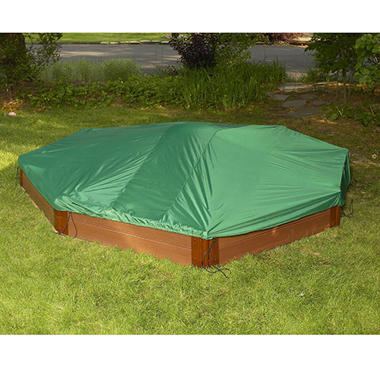 Octagonal & Circle Sandbox Cover - 10' x 10'