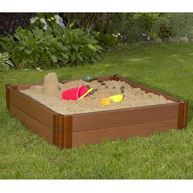 "Square Sandbox - 4'W × 4'L × 12""H"
