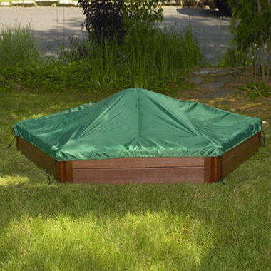 Hexagonal Sandbox Cover - 7' × 8'