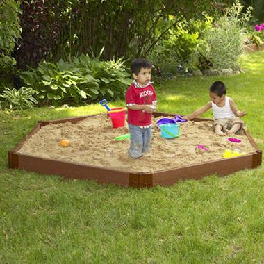 Hexagonal Sandbox - 7' × 8' × 6