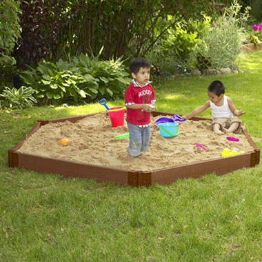 Hexagonal Sandbox - 7' � 8' � 6""