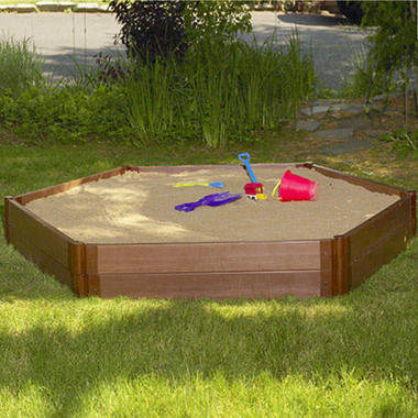 Hexagonal Sandbox - 7' � 8' � 12""