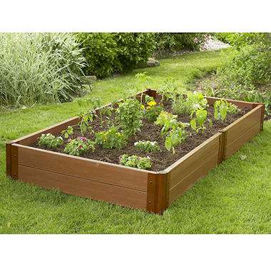 Raised Vegetable Garden - 4'W × 8'L × 12
