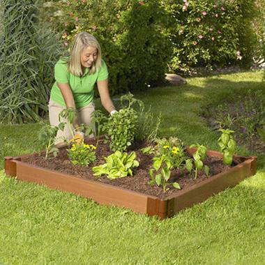 Raised Garden Bed - 4' × 4' × 6