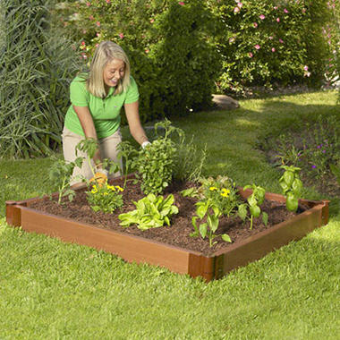Raised Garden Bed - 4' � 4' � 6""