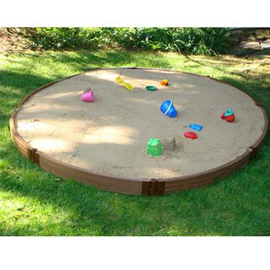 Circular Sandbox - 10.5' x 12