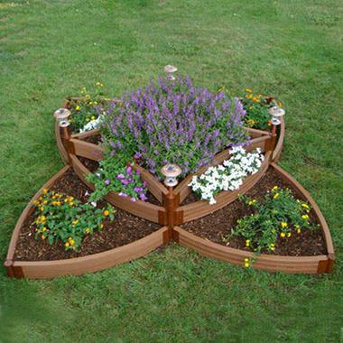 Versailles Sunburst Flower Bed
