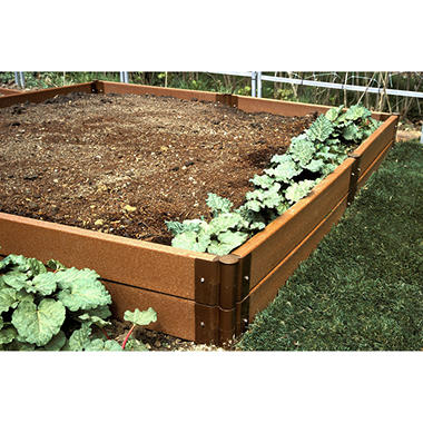 Raised Vegetable Garden - 8' × 8' × 12""