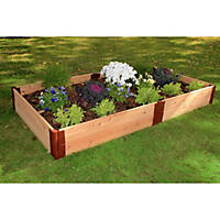 "Frame It All's Raised Garden Cedar 1"" 4' x 8', 2-Level"