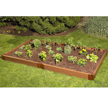 Raised Garden Bed  - 4' × 8' × 6