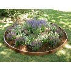 "Frame It All's Raised Garden Circle 1"" 10.5' Dia., 1-Level"