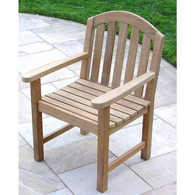 Teak Wood Glaser Arm Chair