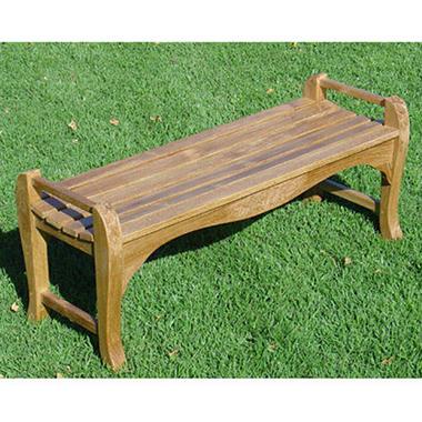 Teak Wood Backless Bench Sam S Club