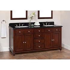 72-inch Double Sink Ely Vanity