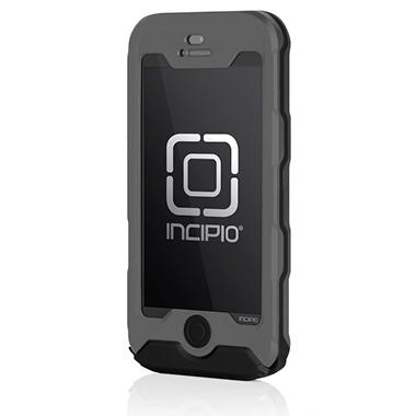 Incipio Waterproof ATLAS Case for iPhone 5 - Gray/Black