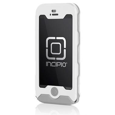 Incipio Waterproof ATLAS Case for iPhone 5 - Gray/White