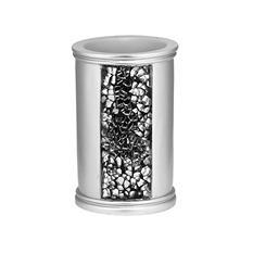 Sinatra Silver Sequins Design Tumbler