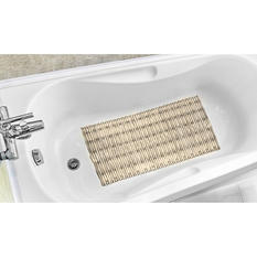 Bamboo Design Tub Mat (Assorted Colors)
