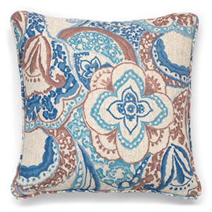 "Audrey 20"" Bombay Pillow (Assorted Colors)"