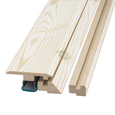 SimpleSolutions Four-in-One Molding - White Pine; 78.75 In. Long