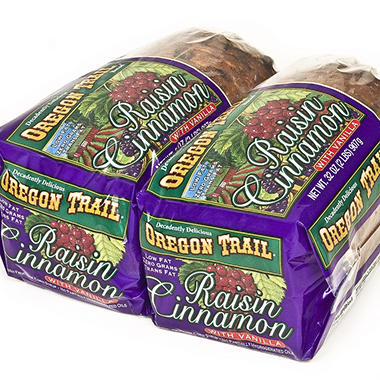 Oregon Trail ® Raisin Cinnamon Bread
