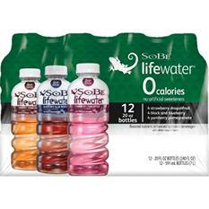 Sobe Zero Variety Pack (20 oz. bottles, 12pk.)